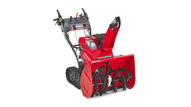 9 series three-quarter right facing snowthrower.